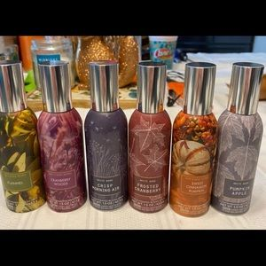 6 piece fall room spray
